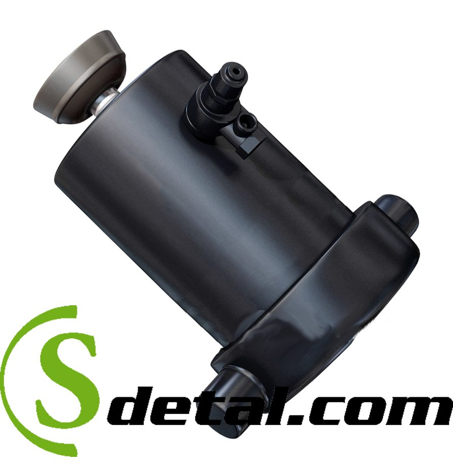 Гидроцилиндр прицепа КамАЗ 4-х штоковый 8560-8603010-06