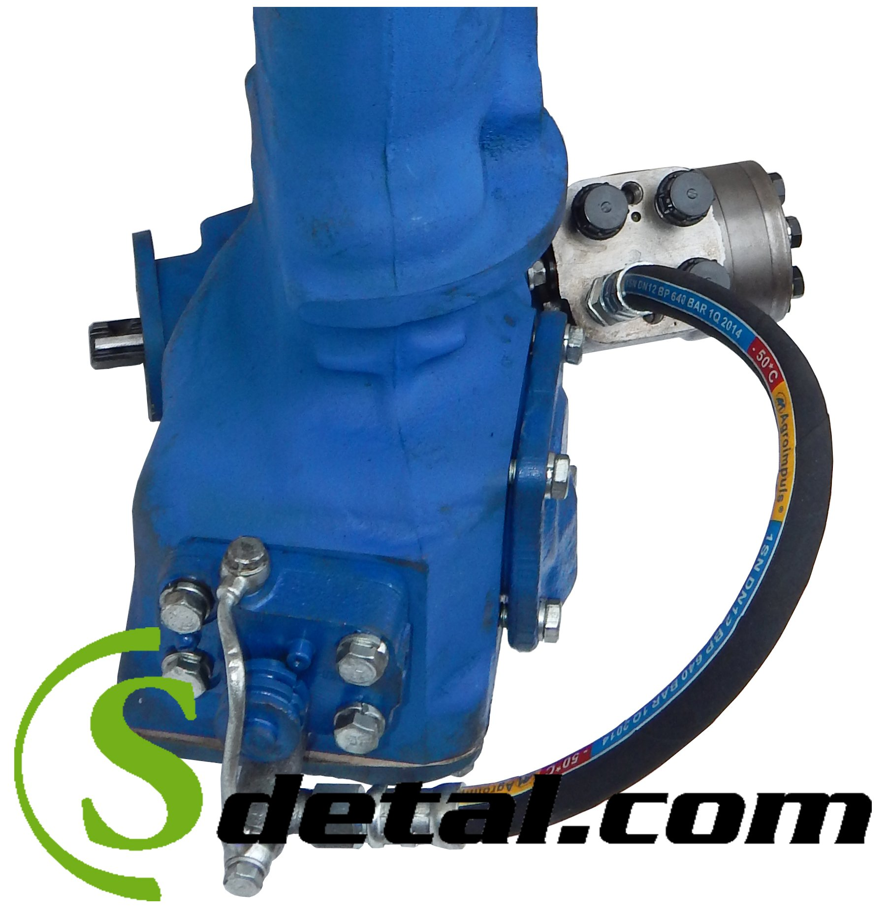 Комплект для установки насоса дозатора на ГУР трактора МТЗ.
