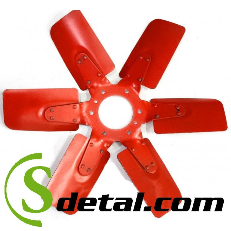 Крыльчатка вентилятора ЮМЗ Д-65 Д65-1308050