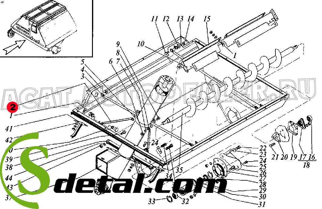 Растяжка РСМ-10.01.45.824 Дон-1500