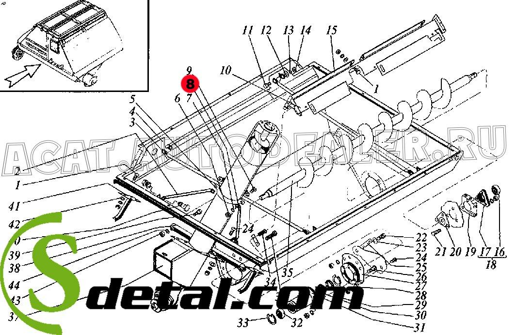 Растяжка РСМ-10.01.45.824-01 Дон-1500