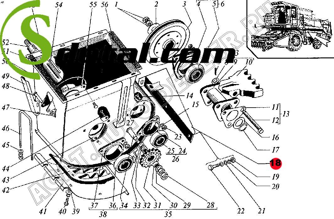 Кронштейн РСМ-10.01.39.150А Дон-1500