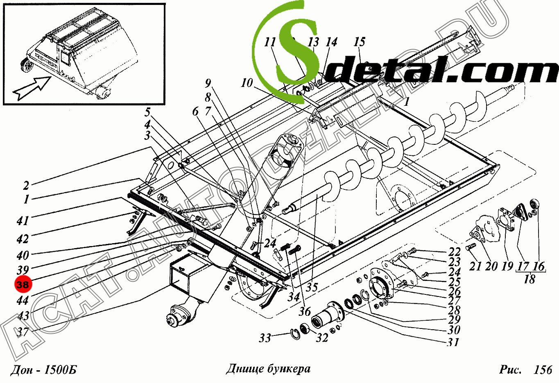 Труба РСМ-10.01.45.500В молотилки Дон-1500