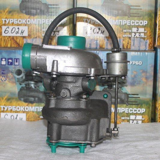 Турбокомпрессор ТКР-6.1(01) с клапаном Д-245 ПАЗ  ГАЗ