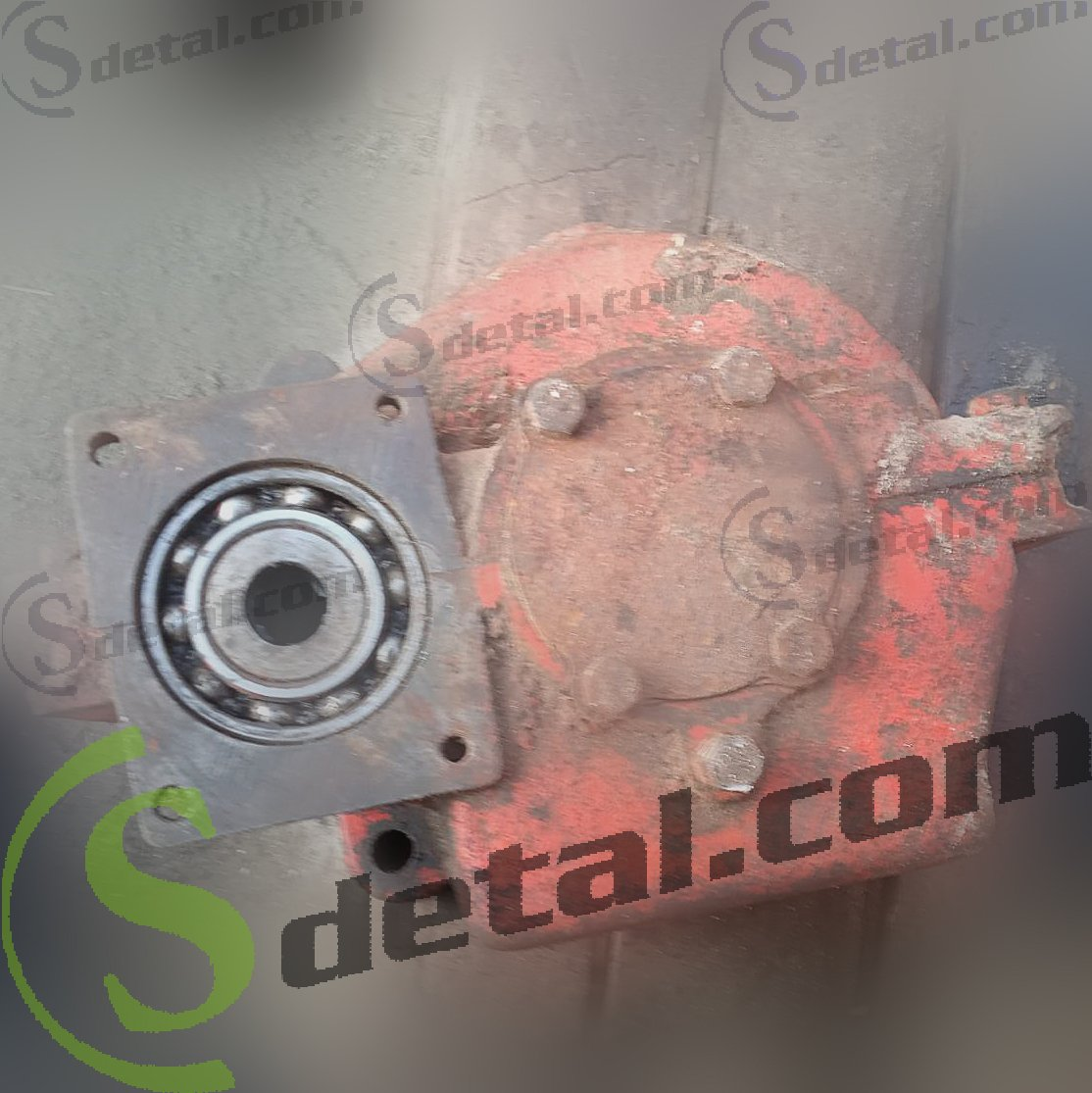 Привод гидронасоса НШ-50 на погрузчик Карпатец под один насос