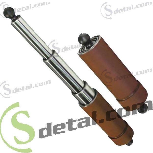 Гидроцилиндр кузова ГАЗ (ГЦТ1-3-17-695, ГЦ 3507-01-8603010) 3-х штоковый