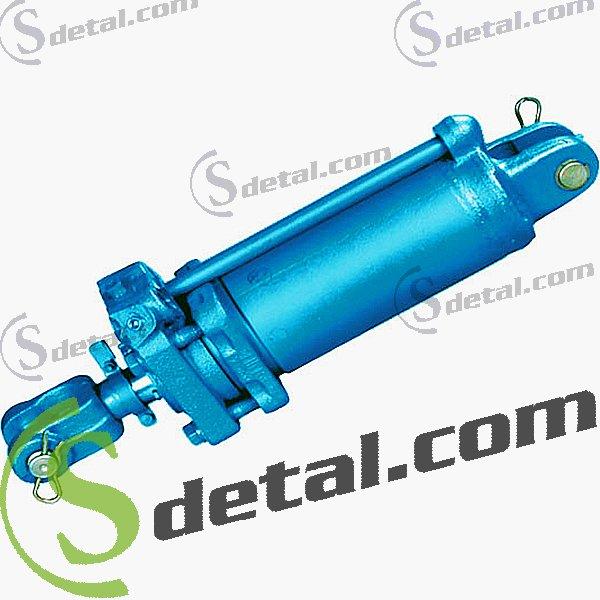 Гидроцилиндр на мусоровоз ГАЗ-САЗ-3901-10 80×40х250, культиватор КШН-5.6 ККП-6. БГР-6.7